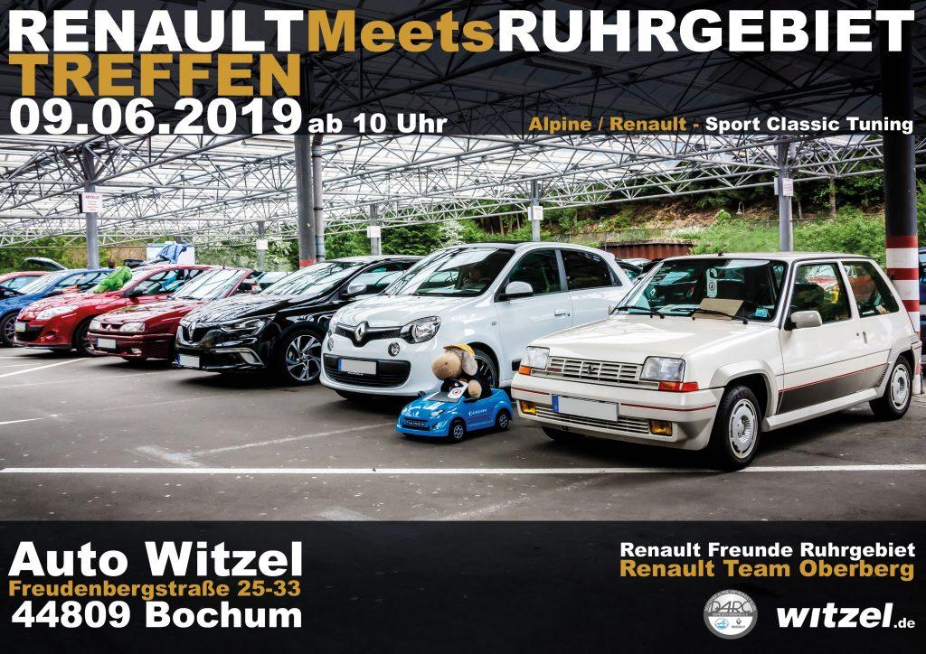Renault Meets Ruhrgebiet 2019