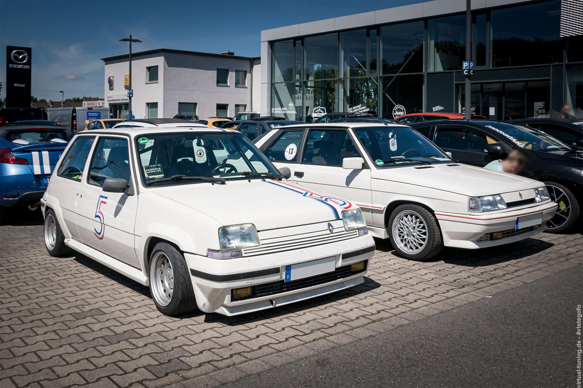 """R5 und R11 beim """"Renault Meets Ruhrgebiet 2019"""""""