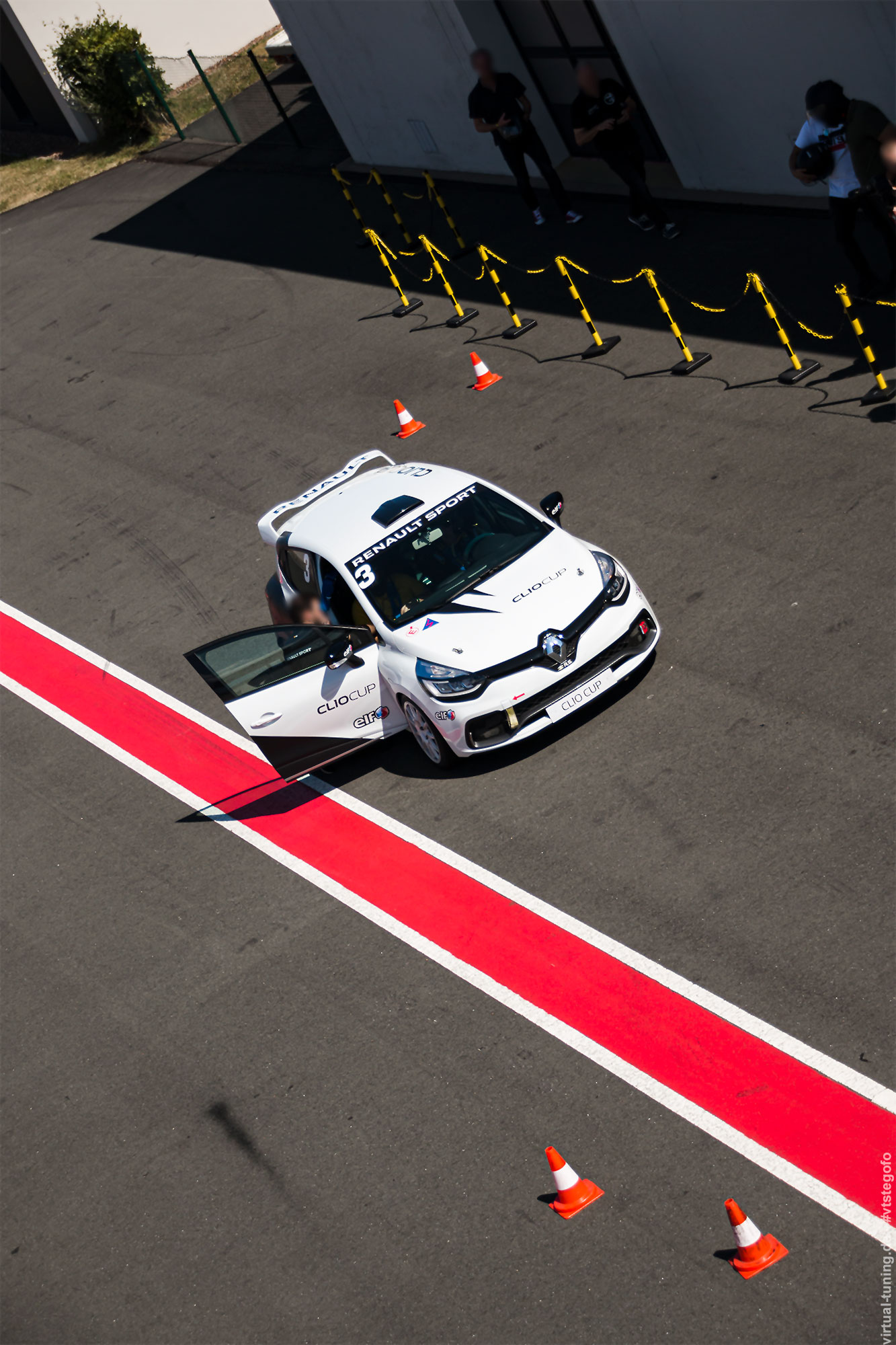 Renault Clio 4 R.S. Cup beim Renault Sport Track Day 2018
