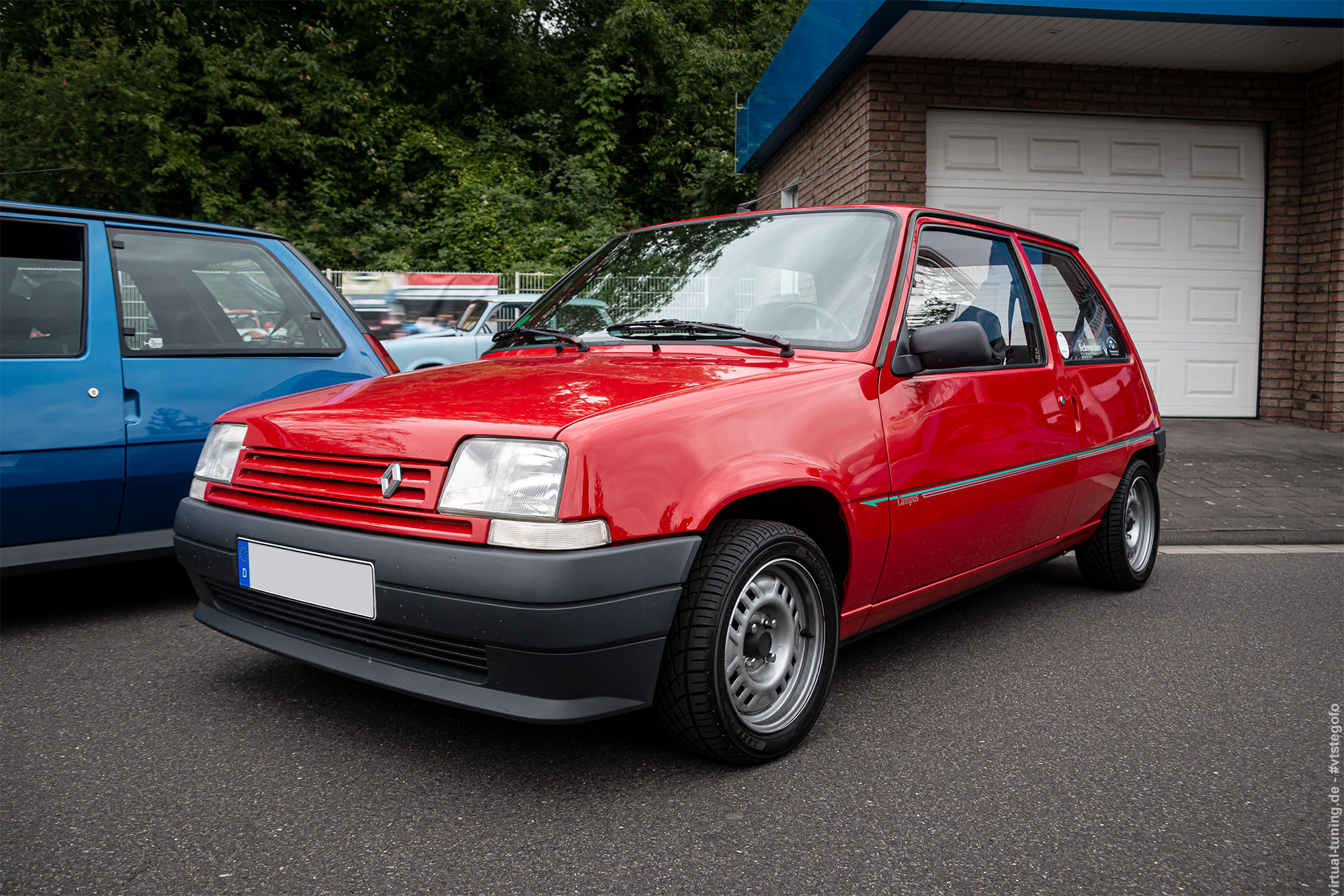 Renault 5 Campus - R.S. meets Cafe 477