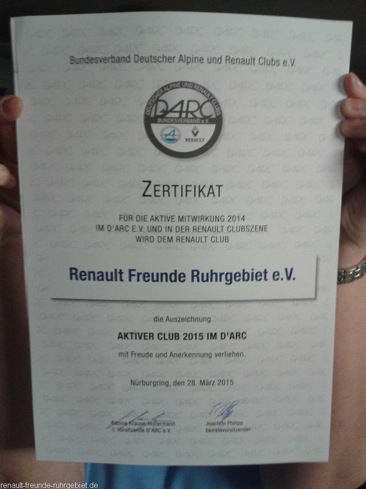 26. Nationale Alpine und Renault Clubtreffen am Nürburgring
